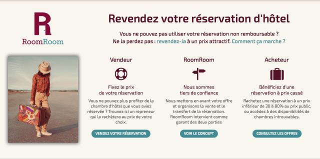 Revendez votre réservation d'hôtel